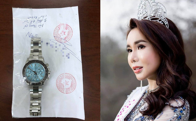 Hoa hậu trộm đồng hồ Rolex 2 tỉ đồng có thể đối diện mức án nào? - Ảnh 2.