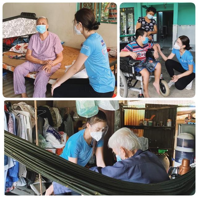Trước khi đến Miss World 2021, Đỗ Hà vẫn kịp làm điều này cho những người khuyết tật, người già neo đơn - Ảnh 4.