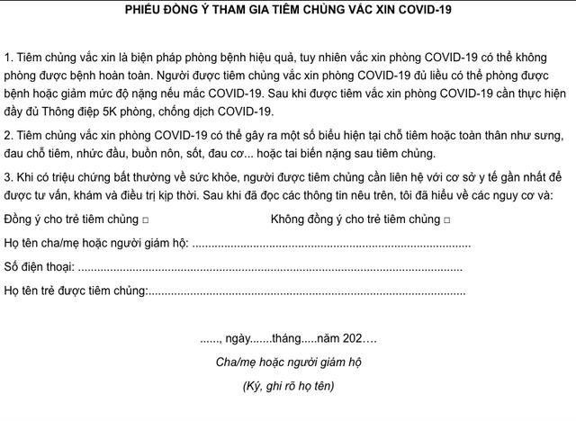 Cha mẹ lưu ý gì khi chuẩn bị đưa trẻ từ 12-17 tuổi đi tiêm vaccine COVID-19? - Ảnh 2.