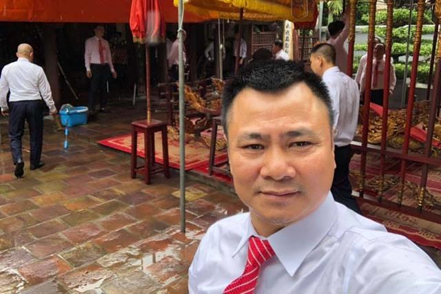 Quốc Khánh, Công Lý và dàn nghệ sĩ mừng NSND Tự Long lên lão - Ảnh 2.