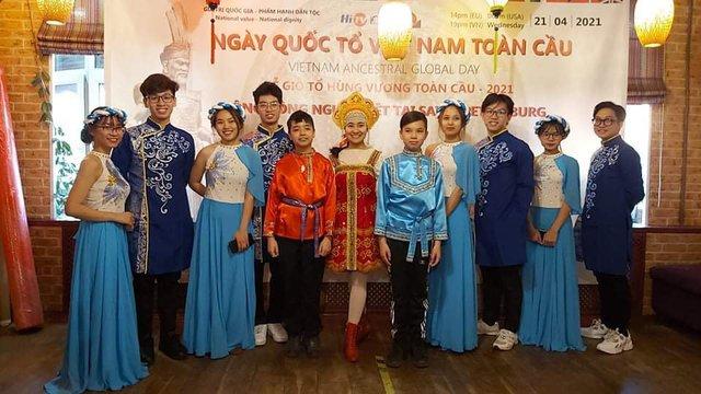 Xúc động không khí kiều bào Việt Nam và người nước ngoài cùng đón giỗ Tổ Hùng Vương - Ảnh 5.
