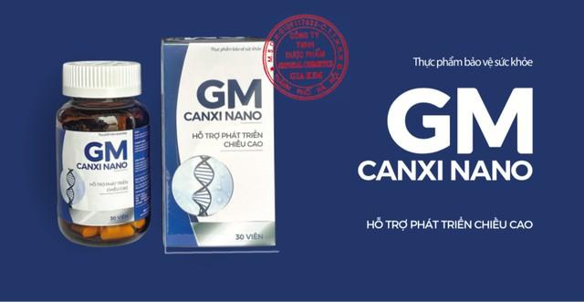 Chiều cao như ý, xương răng chắc khoẻ với GM Canxi Nano - Ảnh 1.