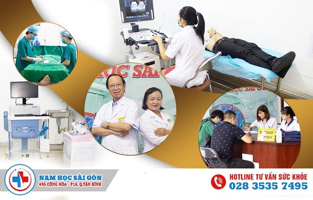 Nam Học Sài Gòn - Phòng khám nam khoa chất lượng dành cho nam giới - Ảnh 1.