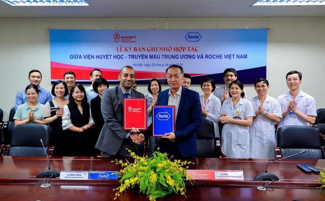 Viện huyết học – Truyền máu Trung ương và Roche Việt Nam hợp tác nâng cao chất lượng chăm sóc và điều trị bệnh huyết học - Ảnh 3.