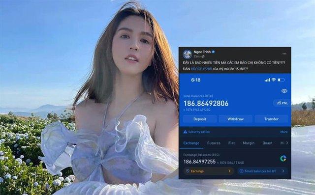 Ngọc Trinh, Kiều Minh Tuấn, Nam Thư, Khả Như bị ném đá khi công khai PR tiền ảo - Ảnh 1.