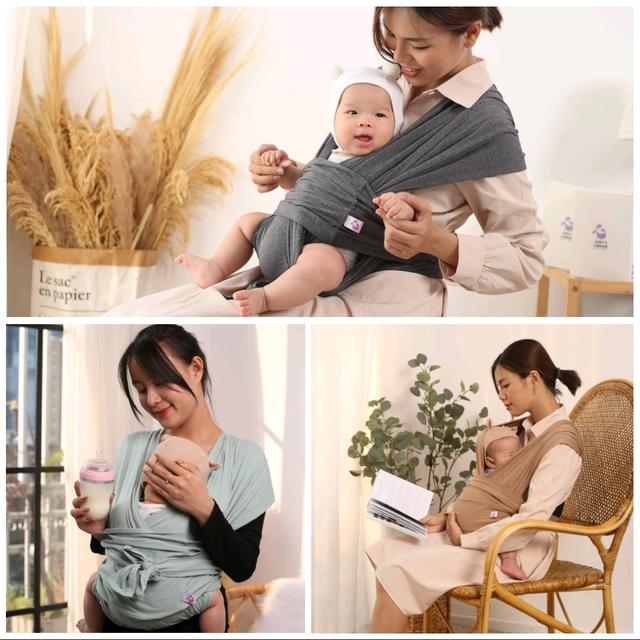 Địu vải Jumy – ôm con theo cách riêng của mẹ - Ảnh 2.