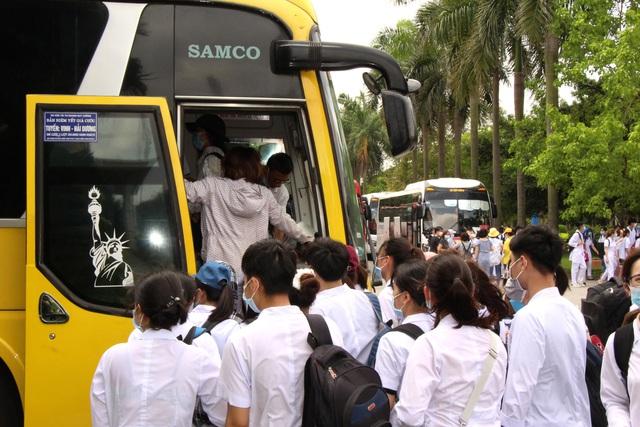 Sinh viên trường y xuất quân chi viện Bắc Ninh, Bắc Giang chống dịch - Ảnh 17.