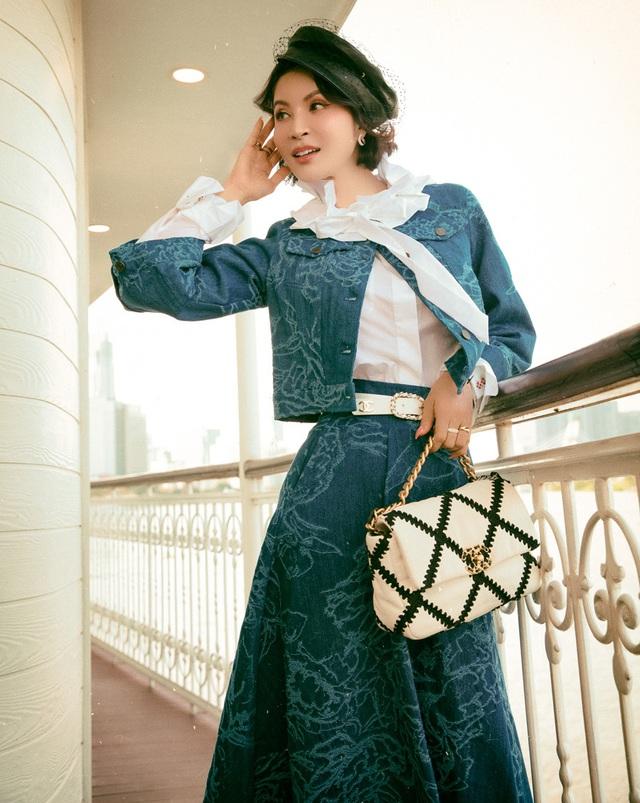 MC Thanh Mai gợi ý phối đồ theo phong cách retro - Ảnh 8.