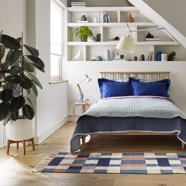 9 ý tưởng thông minh để mở rộng tối đa không gian cho phòng ngủ nhỏ - Ảnh 6.
