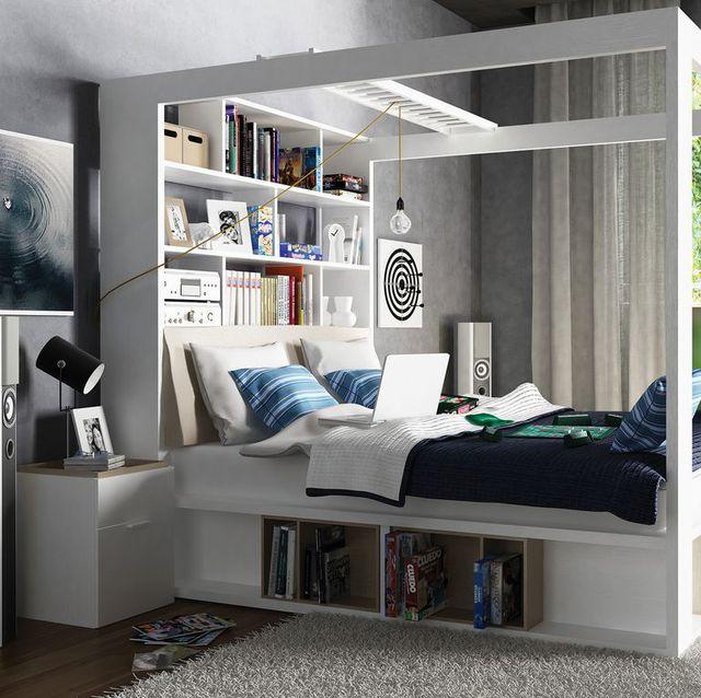 9 ý tưởng thông minh để mở rộng tối đa không gian cho phòng ngủ nhỏ - Ảnh 7.