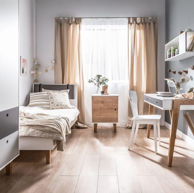 9 ý tưởng thông minh để mở rộng tối đa không gian cho phòng ngủ nhỏ - Ảnh 9.