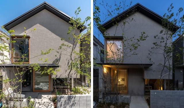 Căn nhà phố với mặt tiền tối giản nhưng đem lại sự hài hòa đến bất ngờ ở Nhật Bản - Ảnh 1.