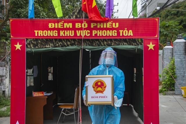 Bắc Ninh: Cách ly xã hội toàn bộ huyện Quế Võ - Ảnh 4.