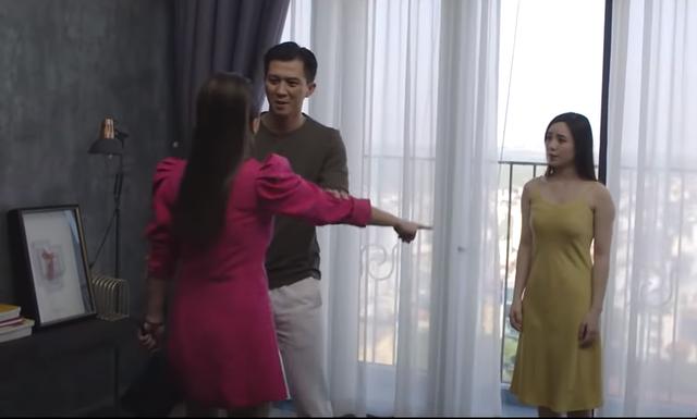 Hãy nói lời yêu tập 11: My bị vợ Bình đánh ghen