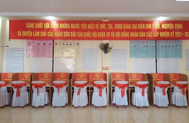Hải Phòng tổ chức phân luồng trong ngày bầu cử - Ảnh 3.