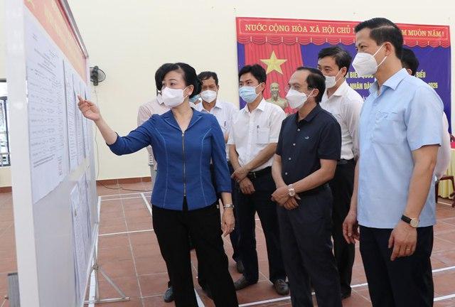 """""""Tâm dịch"""" Bắc Ninh và Bắc Giang quyết tâm tổ chức thành công cuộc bầu cử - Ảnh 2."""
