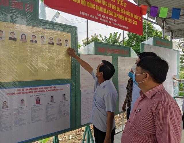 Hải Phòng tổ chức phân luồng trong ngày bầu cử - Ảnh 7.