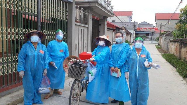 Những hình ảnh đặc biệt tại tâm dịch Bắc Giang - Ảnh 6.