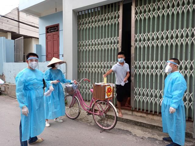 Những hình ảnh đặc biệt tại tâm dịch Bắc Giang - Ảnh 5.