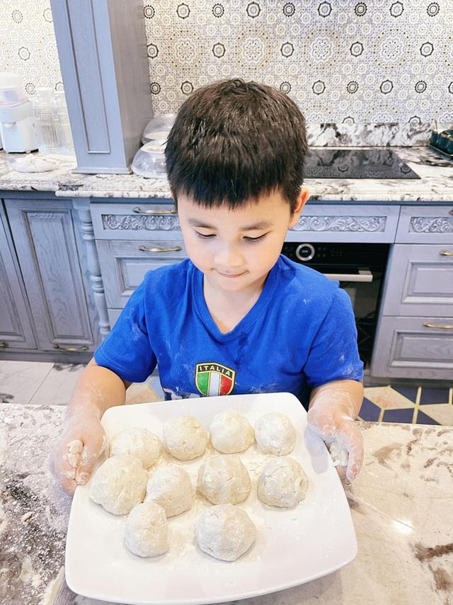 Thử làm khoai tây viên bọc phô mai chiên xù theo công thức nhà Đăng Khôi, đảm bảo bé nào cũng mê tít - Ảnh 5.