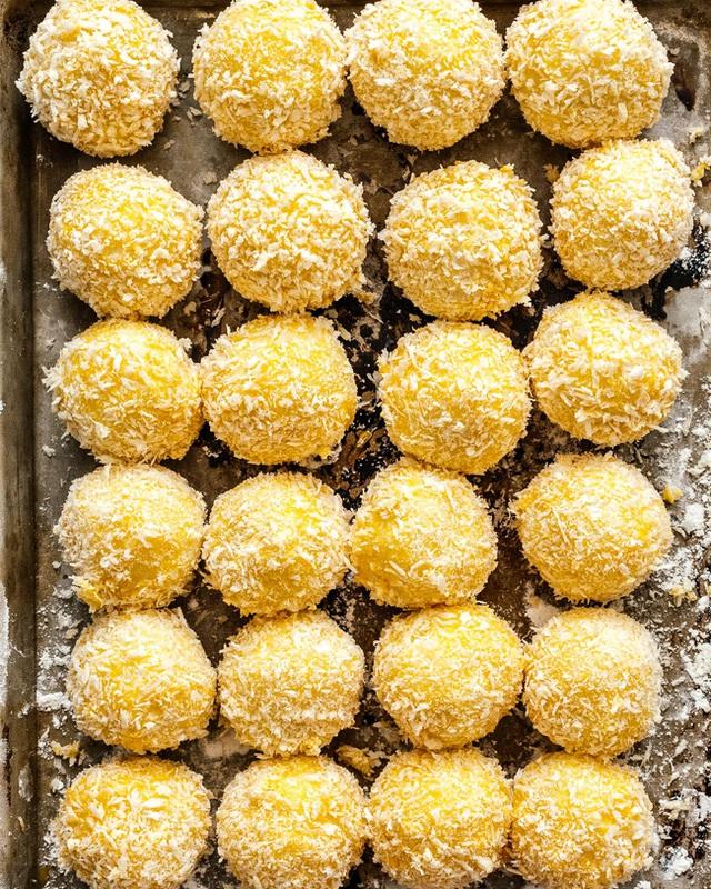 Thử làm khoai tây viên bọc phô mai chiên xù theo công thức nhà Đăng Khôi, đảm bảo bé nào cũng mê tít - Ảnh 6.