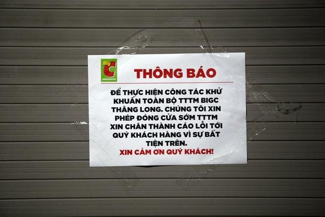 Cấp tốc truy vết người liên quan đến ca dương tính mua hàng ở BigC Thăng Long - Ảnh 2.