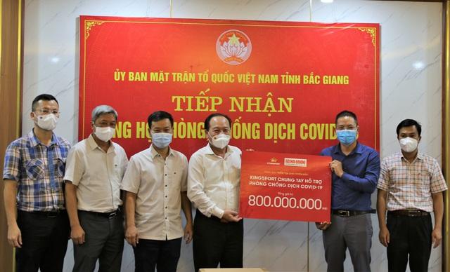 Các doanh nghiệp tích cực ủng hộ Bắc Giang, Bắc Ninh chống dịch - Ảnh 5.