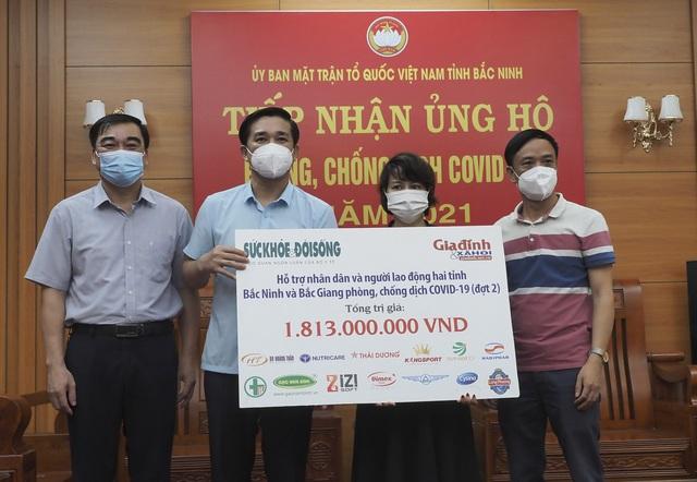 Các doanh nghiệp tích cực ủng hộ Bắc Giang, Bắc Ninh chống dịch - Ảnh 3.