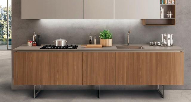 Tủ bếp thoáng chân đang trend nhưng có nên dùng cho nội thất nhà Việt, đặc biệt với tầng 1 nhà phố hay nồm ẩm - Ảnh 1.