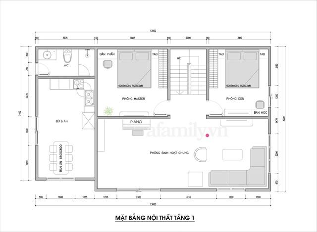 Kiến trúc sư tư vấn thiết kế nhà cấp 4 ở quê với chi phí 210 triệu đồng - Ảnh 2.