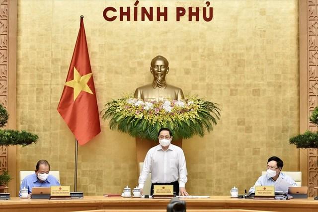 Thủ tướng Phạm Minh Chính: Chống dịch từ phòng ngự sang chủ động tấn công - Ảnh 4.