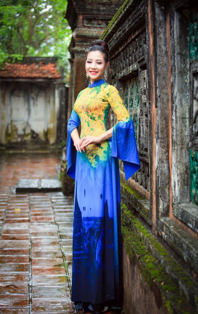 BST áo dài độc đáo về Quốc hoa ASEAN - Ảnh 9.