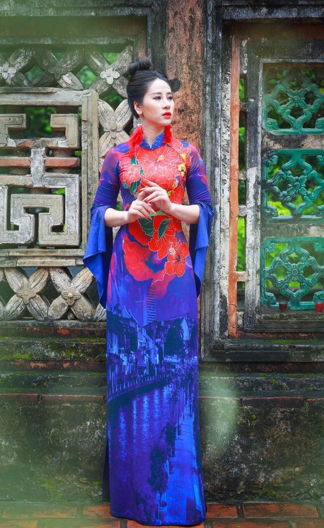 BST áo dài độc đáo về Quốc hoa ASEAN - Ảnh 11.