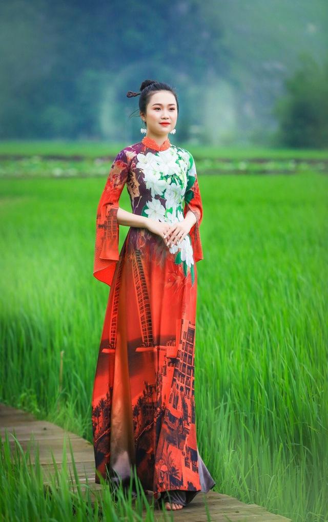 BST áo dài độc đáo về Quốc hoa ASEAN - Ảnh 8.