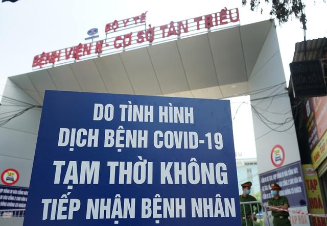 Chủ tịch Hà Nội: Bệnh viện K chỉ tiếp nhận trường hợp cấp cứu - Ảnh 6.