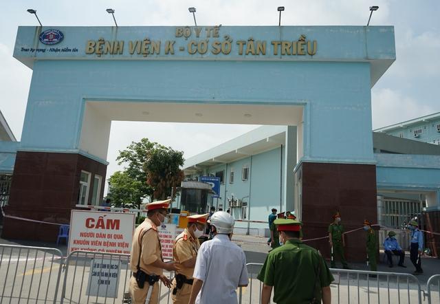 Chủ tịch Hà Nội: Bệnh viện K chỉ tiếp nhận trường hợp cấp cứu - Ảnh 3.