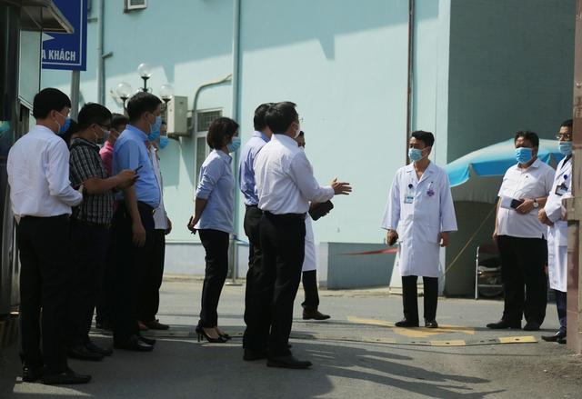Chủ tịch Hà Nội: Bệnh viện K chỉ tiếp nhận trường hợp cấp cứu - Ảnh 5.