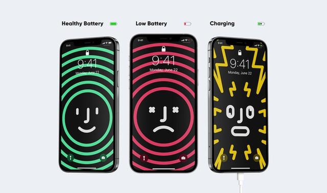 Hình nền thông minh giúp bạn tiết kiệm pin cho iPhone - Ảnh 2.