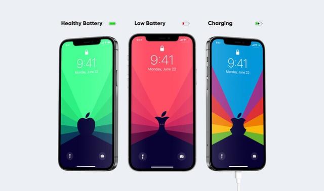 Hình nền thông minh giúp bạn tiết kiệm pin cho iPhone - Ảnh 3.