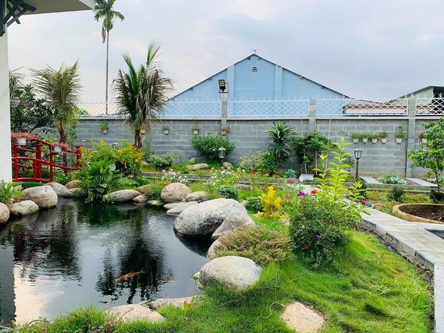 Khu vườn 720m2 đẹp như resort thu nhỏ người chồng tặng vợ ở Đồng Nai - Ảnh 2.