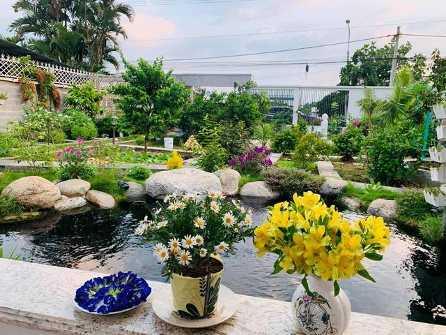 Khu vườn 720m2 đẹp như resort thu nhỏ người chồng tặng vợ ở Đồng Nai - Ảnh 3.