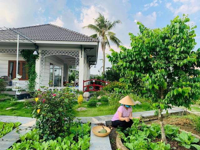 Khu vườn 720m2 đẹp như resort thu nhỏ người chồng tặng vợ ở Đồng Nai - Ảnh 4.