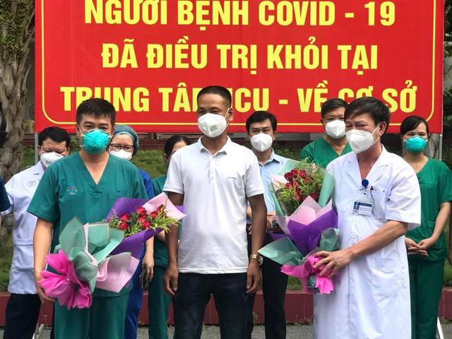 2 bệnh nhân COVID-19 nặng đầu tiên ở Bắc Giang khỏi bệnh - Ảnh 5.