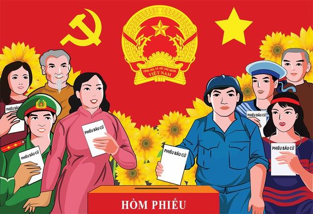 Chính thức công bố kết quả bầu cử và danh sách những người trúng cử ĐBQH khóa XV - Ảnh 2.