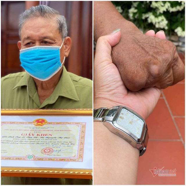 Vợ chồng người thương binh gom 4,5 tỷ đồng dưỡng già tặng quỹ vắc xin - Ảnh 2.