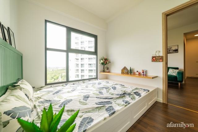 Căn hộ chỉ vỏn vẹn 69m² với điểm nhấn màu xanh thổi bay nắng nóng mùa hè ở ngoại thành Hà Nội - Ảnh 16.