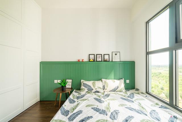 Căn hộ chỉ vỏn vẹn 69m² với điểm nhấn màu xanh thổi bay nắng nóng mùa hè ở ngoại thành Hà Nội - Ảnh 17.