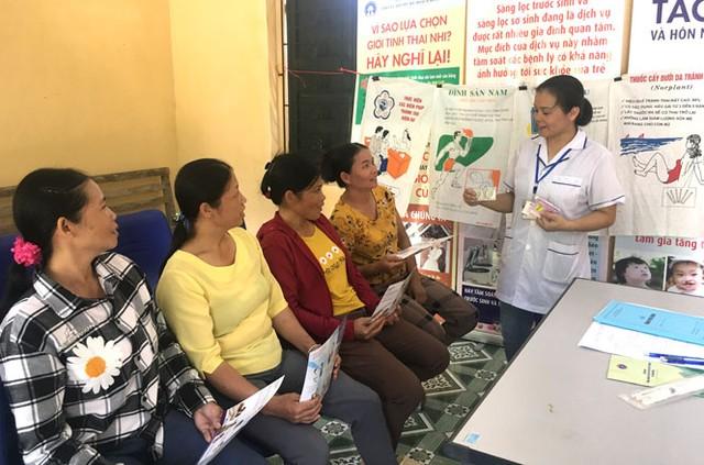Thái Nguyên đẩy mạnh truyền thông dân số tại những vùng khó khăn - Ảnh 1.