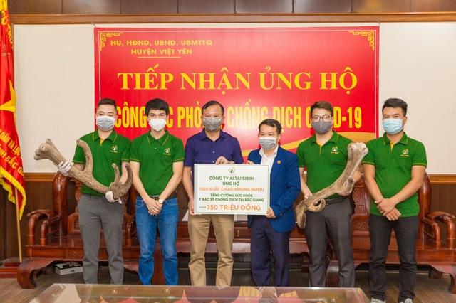 7500 suất cháo nhung hươu tặng y bác sĩ chống dịch tại Bắc Giang - Ảnh 1.