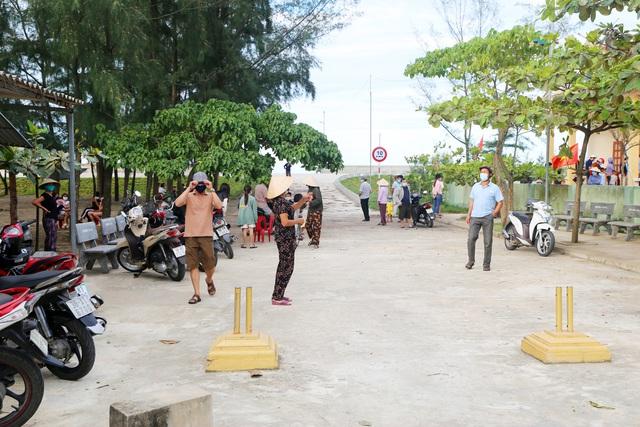 Chùm ảnh khu phong tỏa ở huyện Nghi Xuân (Hà Tĩnh) - Ảnh 5.